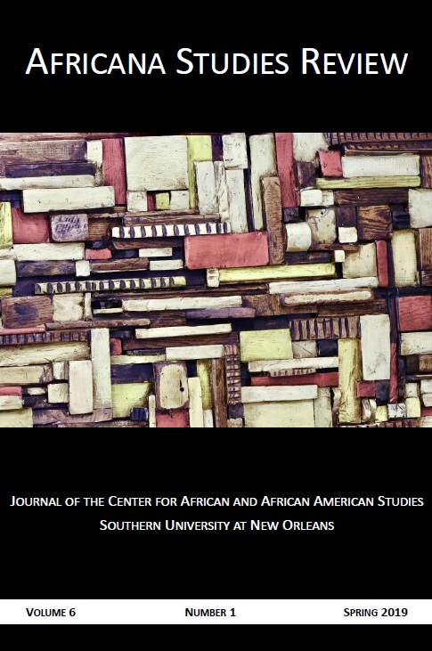 View Vol. 6 No. 1 (2019): Africana Studies Review - Spring 2019